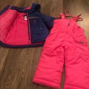 Caters snow outfit